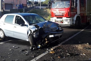 Incidente a Pianodardine, automobile contro vettura parcheggiata: travolto 62enne, è grave