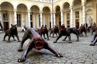 Napoli, cento lupi di ferro occuperanno piazza Municipio: saranno l'attrazione di Natale