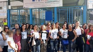 Vermi nella scuola Neghelli-Gigante di Cavalleggeri: la protesta delle mamme