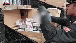 Recuperate le 5 tonnellate di sigarette rubate durante una rapina con sequestro di persona