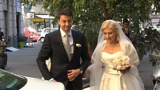Sopravvissuti al ponte Morandi si sposano: Eugeniu e Natalya si sono detti sì