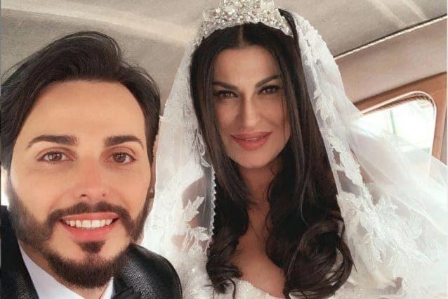 Tony Colombo e la moglie Tina Rispoli.