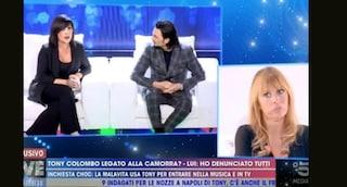 Tony Colombo e Tina Rispoli a 'Live Non è la D'Urso', dove la camorra diventa farsa