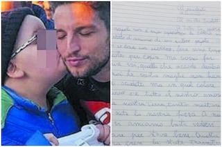 """La lettera al Napoli di Aurora, bimba malata di tumore: """"Tornate a vincere, siete la nostra forza"""""""