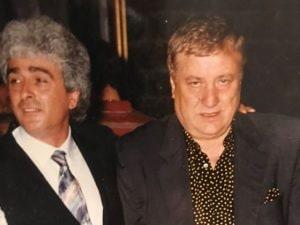 Aldo Riva accanto a Mario Merola