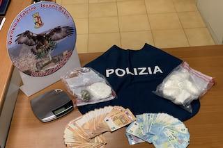Salerno, aveva mezzo chilo di cocaina nelle mutande, arrestato