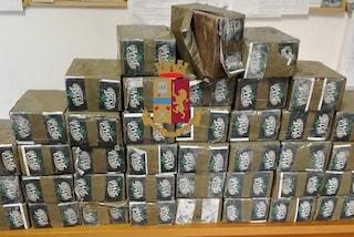San Giovanni a Teduccio, corrieri della droga presi con 40 chili di hashish