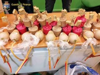 Botti illegali pronti per Capodanno: sequestrati 330 chili a Melito