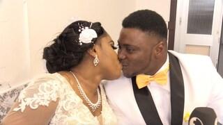 Portici, fuggiti dalla Nigeria e oggi sposi in Italia: la bella storia di Power e Peace