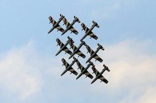 Aerei militari a bassa quota su Napoli? Sono le Frecce tricolori per la Festa del 4 novembre