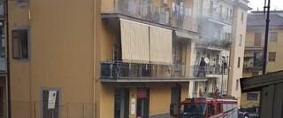 Incendio nella casa del sindaco di Cava de' Tirreni: lievi ustioni per il figlio maggiore