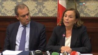 """La ministra dell'Interno Lamorgese: """"Nel 2020 a Napoli 400 agenti in più"""""""