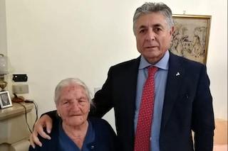 """A Sturno la donna più longeva della Campania: """"nonna Laurina"""" compie 110 anni"""