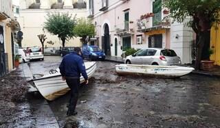 Ischia flagellata dal maltempo, il sindaco chiede lo stato di calamità