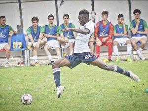 Il calciatore Massimo Goh N'cede. [Foto / Instagram]