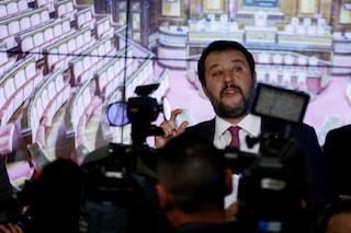 Matteo Salvini sta soffiando sul fuoco della pandemia in Campania