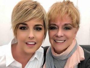 Nadia Toffa e la mamma Margherita