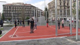 Napoli, inaugurata finalmente la nuova piazza Garibaldi