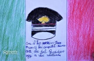 Carabiniere ucciso a Roma, i bimbi di Somma Vesuviana regalano letterine alla vedova di Cerciello