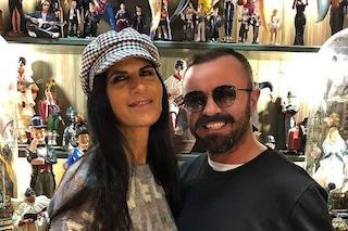 Pamela Prati a Napoli per la statuina di Mark Caltagirone