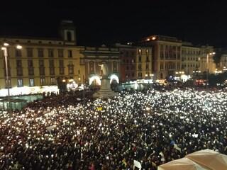 Napoli, sardine in corteo contro la guerra tra Usa e Iran il 25 gennaio a piazza San Domenico