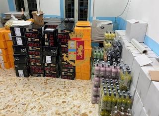 Napoli, champagne e liquori contraffatti e pericolosi: sequestrate quasi duemila bottiglie