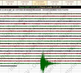 Terremoto in provincia di Salerno, magnitudo 3.4