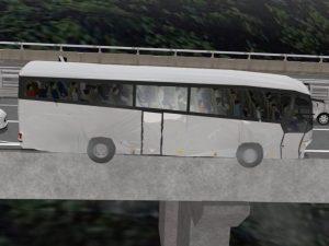 La ricostruzione in 3d dell'incidente del 2013