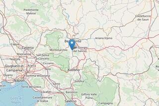 Terremoto a Ceppaloni (Benevento): 4 scosse dalla notte, la più forte di magnitudo 2.9