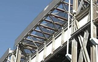 Maltempo Napoli, danneggiato lo stadio San Paolo, ristrutturato solo pochi mesi fa