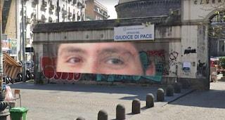 A Napoli un murale per Arturo, il 17enne accoltellato due anni fa su Via Foria