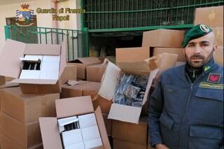 Orta di Atella, 2 tonnellate e mezza di botti pericolosi nascosti in un palazzo