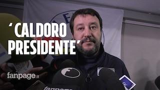 """Elezioni regionali Campania 2020, Salvini """"benedice"""" Caldoro: """"Ha governato bene"""""""