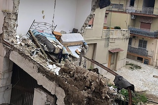 Sant'Antimo, in via Giannangeli non è cambiato nulla dopo il crollo del 2017