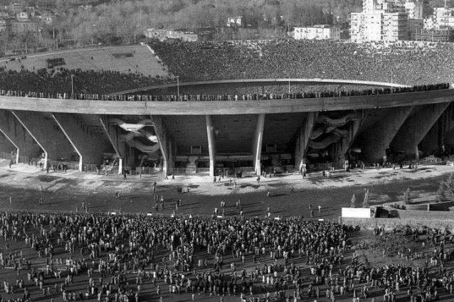 Lo Stadio San Paolo nelle foto dell'epoca.