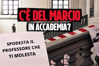 Molestie a Belle Arti Napoli, messaggi del prof alle studentesse ora in mano ai magistrati