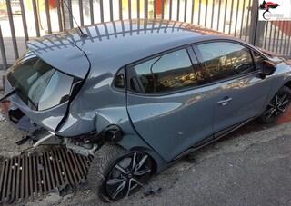 Forchia, ubriaco e drogato causa un incidente stradale e fugge: arrestato