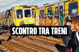 Incidente nella metropolitana di Napoli, scontro fra 3 treni: ci sono 16 feriti