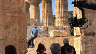 """Alberto Angela tra i templi di Paestum nella seconda puntata di """"Meraviglie"""""""