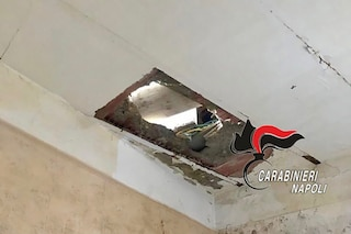 Ercolano, operaio minorenne in nero precipita dal terzo piano nel cantiere abusivo