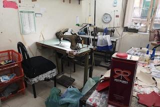 Napoli, sequestrata fabbrica di scarpe abusiva nel Rione Sanità