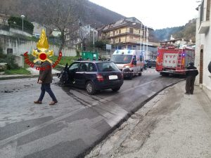 Incidente a Monteforte Irpino