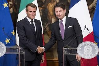 Il presidente francese Macron a Napoli: 'Amo la città e il teatro di De Filippo'
