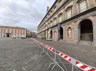Napoli, piazza del Plebiscito 'blindata' per l'incontro sulla sicurezza europea