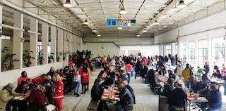 Napoli, 500 poveri alla Mostra d'Oltremare per il pranzo di solidarietà
