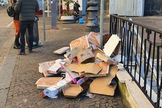 Napoli ancora invasa dai rifiuti di Capodanno: la raccolta procede a rilento