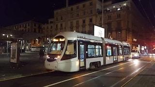 Napoli, torna il tram tra Poggioreale e piazza Municipio: passerà ogni 10 minuti