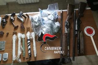 Sant'Antimo, sequestrate le armi del clan: trovati anche i razzi da guerra