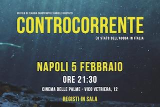 A Napoli arriva Controcorrente, documentario a impatto zero: grazie al film piantati 200 alberi