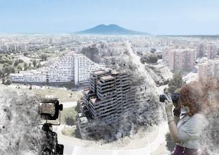 Quel fotomontaggio del Comune che offende Scampia, le Vele e chi ci vive